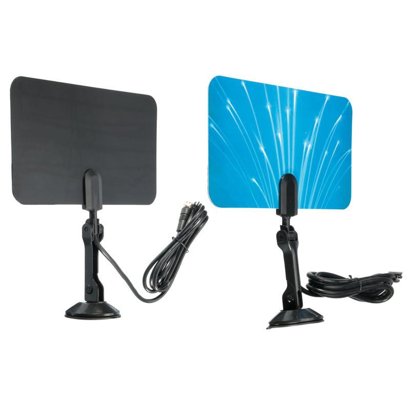 2016 New Arrival Digital Indoor TV Antenna Receiver HDTV DTV Box Ready HD VHF UHF Flat Design High Gain(China (Mainland))