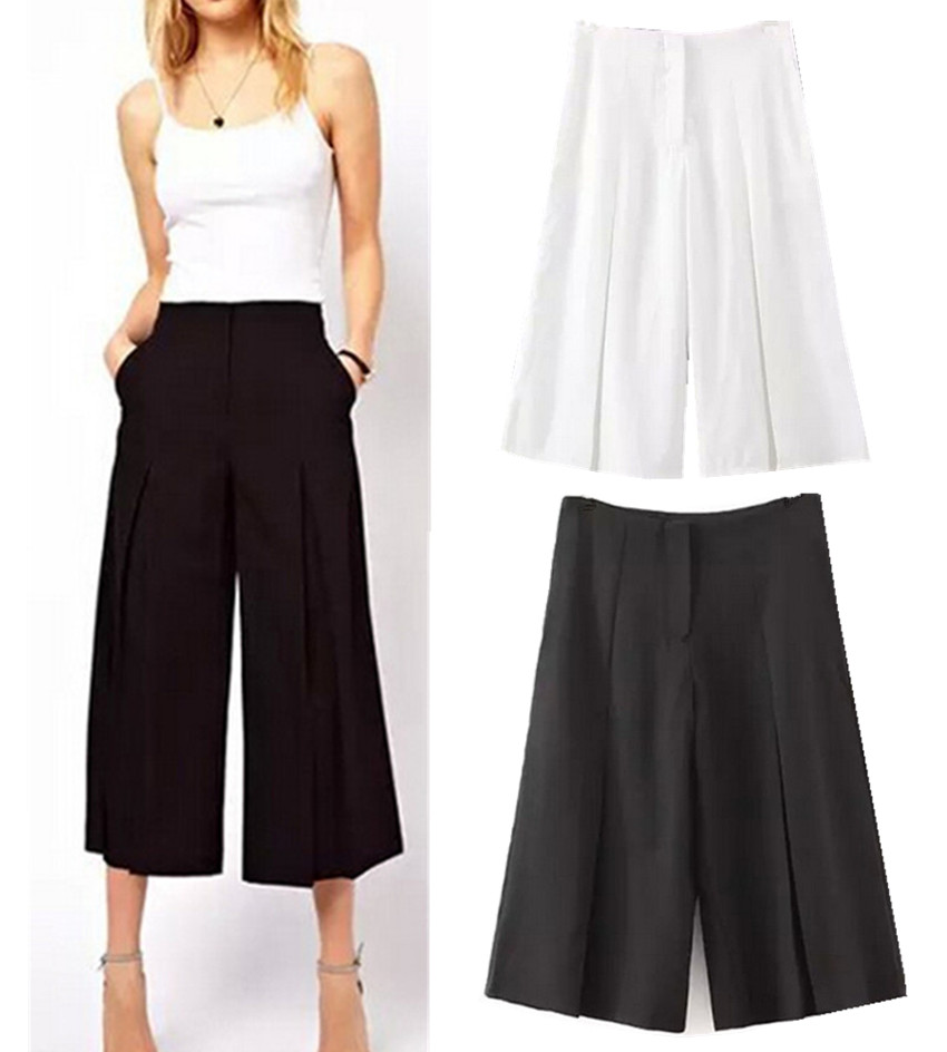 Compare Prices on Wide Leg Gaucho Pants Women- Online Shopping/Buy ...