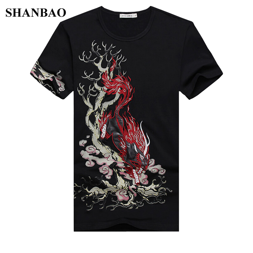 2016 chinese style summer mens short sleeve t shirt new T shirt printing china
