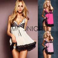 Free Shipping Wholesale Sexy Lingerie Sex Doll Dress Women Sexy costume Sexy Sleepwear New Hot Costumes Lace Dresses