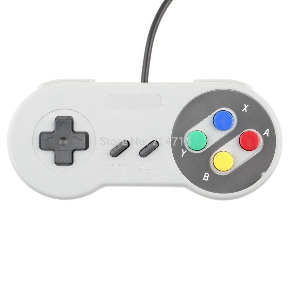 1 x Retro Super for Nintendo SNES USB Controller for PC for MAC Controllers SEALED