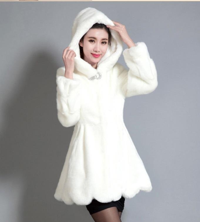 1500G Popular AUTUMN&amp;WINTER COAT WOMEN Rex Rabbit Fur COAT FUAX FUR DRESS COATОдежда и ак�е��уары<br><br><br>Aliexpress