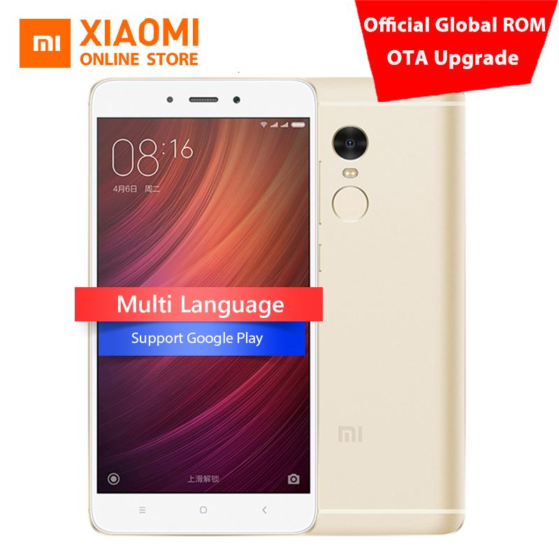 Original Xiaomi Redmi Note 4 Prime MIUI 8 Mobile Phone 3GB RAM 64GB MTK Helio X20 Deca Core 5.5-inch 1080P 13.0mp Fingerprint(China (Mainland))