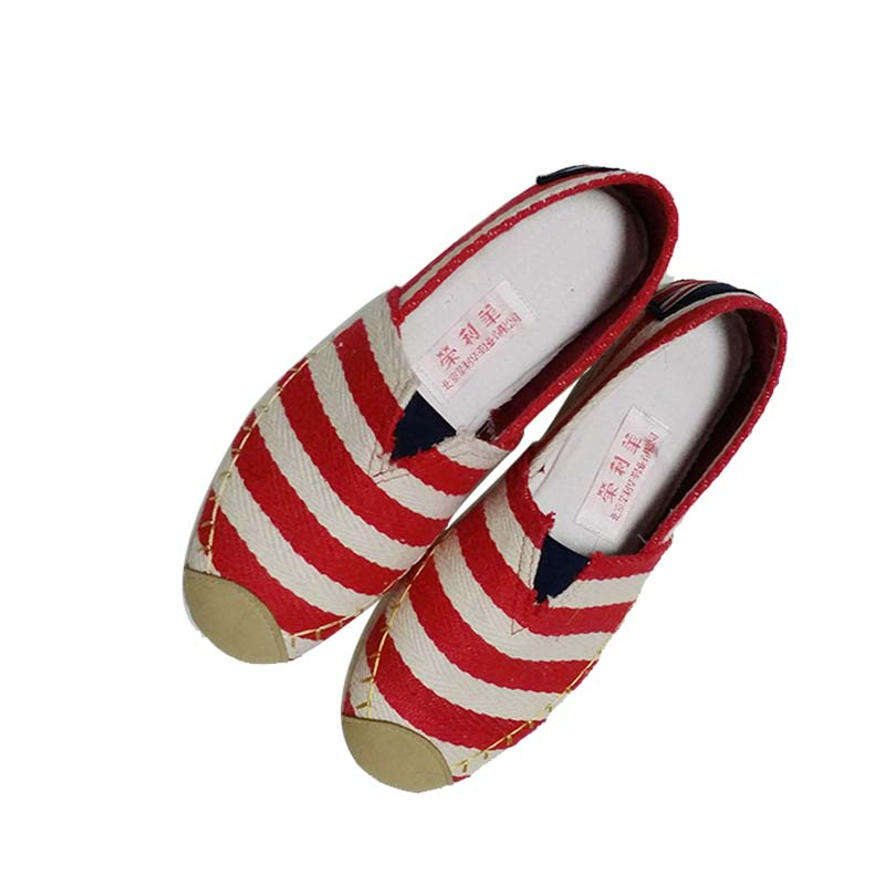 Tradicional zapatos de tela de los zapatos planos cómodos de tiras de la lona 35-40(China (Mainland))