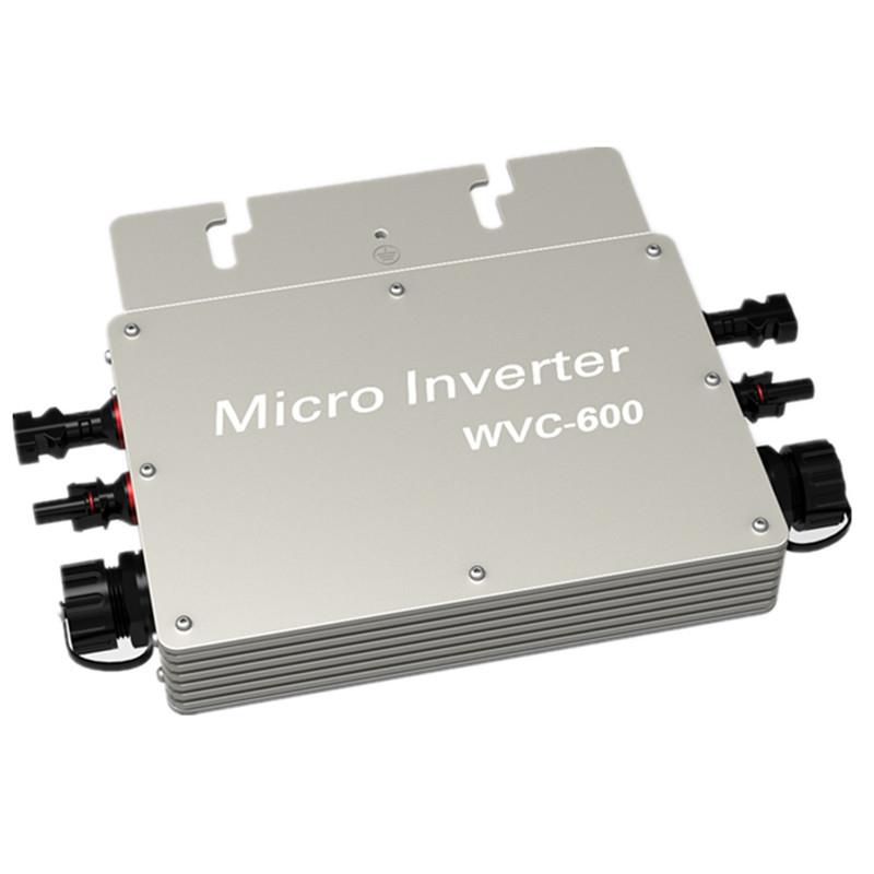 600W solar Inverter 220V/230V Volt Power Inverter Grid Tie Inverter Pure Sine Wave WVC600 190-252VAC(China (Mainland))