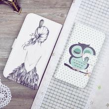 Buy Printing Pattern PU Leather Case Sony Xperia C5 E5553 E5506 / Xperia C5 Ultra E5533 E5563 Cover Flip Wallet Phone Cases for $4.49 in AliExpress store