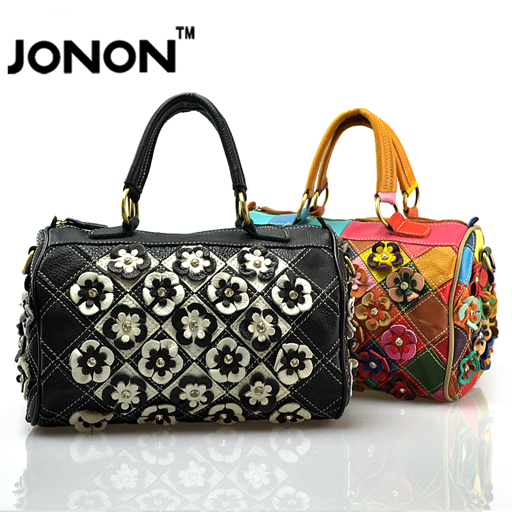 2016 Luxury Jonon Brand Famous Womens Genuine Leather Handbag Genuine Cowhide Crossbody Bags Shoulder Bags Totes High Quality!!<br><br>Aliexpress
