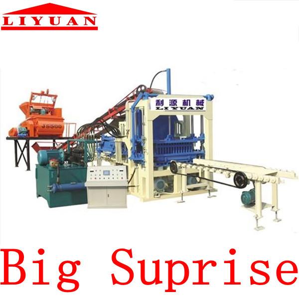 China Manufacturer QT4-15 Automatic Brick Making Machine On Sales()