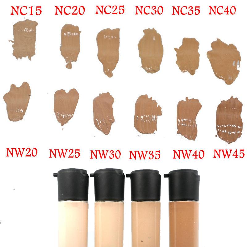 1pcs New Brand Professional Makeup Spf 15 <font><b>Face</b></font> <font><b>Foundation</b></font> Liquid 35ml <font><b>Face</b></font> Base Liquid Concealer 12 Colors
