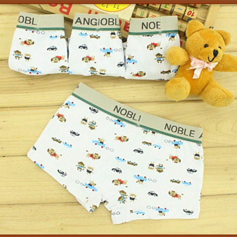 Boys Underwear Cartoon Briefs Panties Wholesale Kids Short Children Briefs Good Quality(China (Mainland))