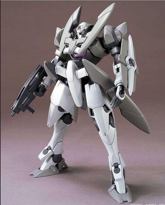 HG 1/144 00-18 / GN-X / doom style brings disaster / stock /4 inch/ Assembled Gundam Models Quality  toy Free shipping