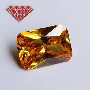 wholesale Octagon of Princess- cut loose cubic zirconia stone  Chmapagne 8 x 10mm AAA (Cut RE---001)<br><br>Aliexpress