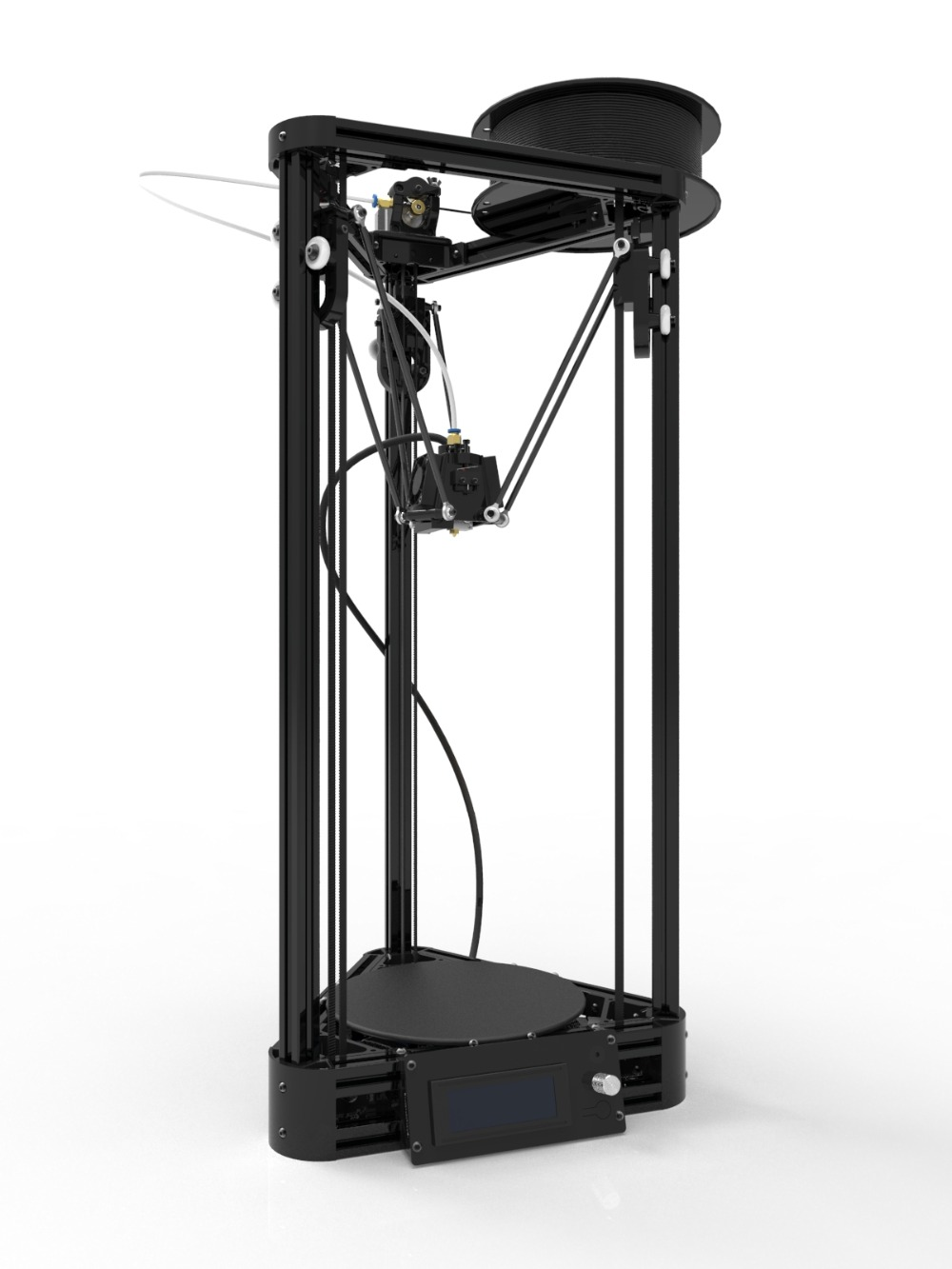 Injection Model Kossel 3D Printer 3D Auto Level Delta Rostock Pulley 3D Printer DIY kit Print