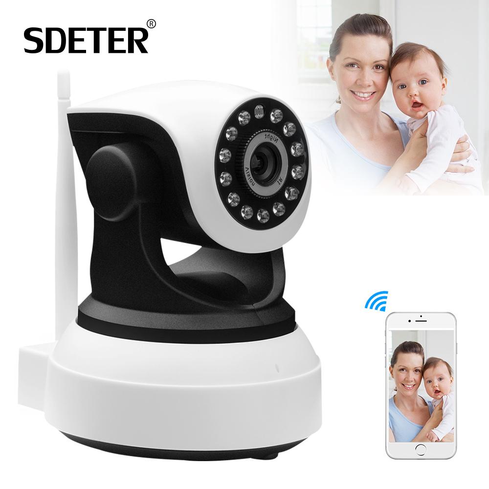 SDETER Onvif IP Wifi Camera Home Security Wireless Video Surveillance 720P Night Vision CCTV Wifi Camera PTZ Baby Monitor Webcam(China (Mainland))