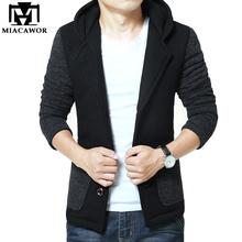 2016 Fashion Winter Mens Jackets Blends Coat Warm High Quality Outerwear Men Parka Size M-XXXL MJ286(China (Mainland))