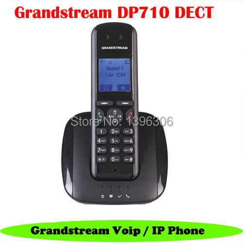 5pcs/lot Grandstream DP710 Wireless IP Phone VoIP DECT cordless SIP IP Phone Supports 5 SIP Accounts(China (Mainland))