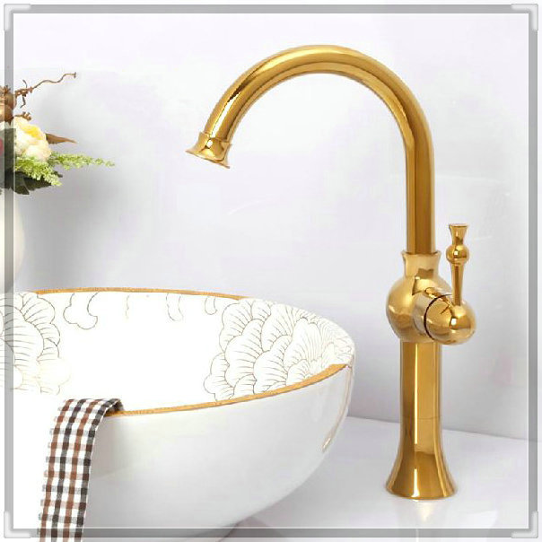 three holes Bathroom Faucet Gold single Handle sink Mixer Tap Bathroom.Single Hole Wash basin faucet.Polished Tap MT-3617A torne(China (Mainland))