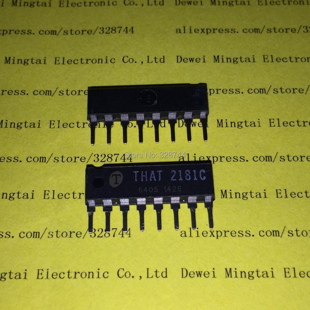 Здесь можно купить  HOT NEW IC THAT 2181C THAT2181C THAT2181 2181 SIP8  Электронные компоненты и материалы
