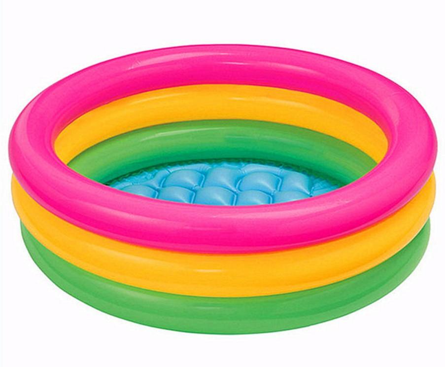 انتكس arpa ثلاث حلقات الحمام تجمع التجديف حمام سباحة الطفل الرضيع نفخ حوض استحمام القرص(China (Mainland))