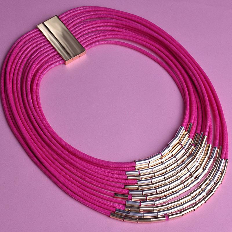 2015 New Statement Big Leather Strap Schmuck Necklaces Pulseiras Sobretudo feminino Choker Bijuterias Accessories Charming(China (Mainland))