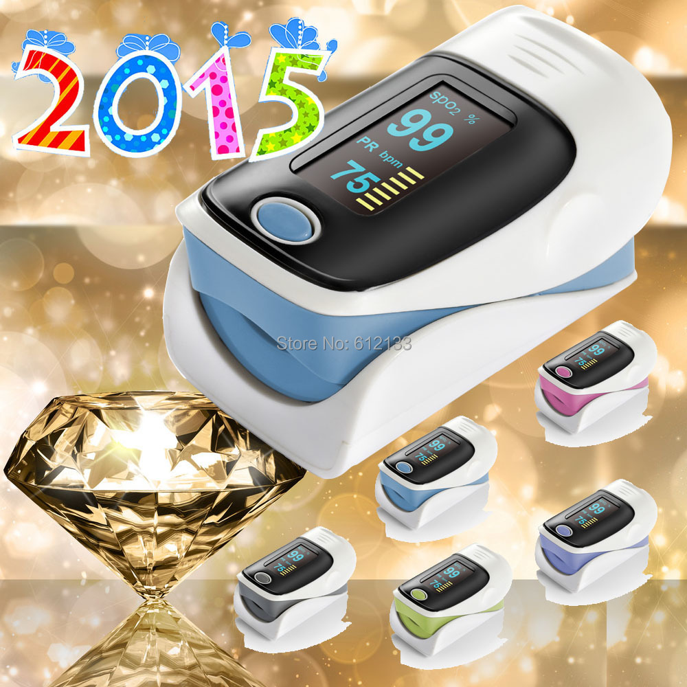 2015 New Updated Brand New Fingertip Pulse Oximeter SPO2 Pulse Rate Oxygen Monitor Sound Alarm Different Directions Display(China (Mainland))