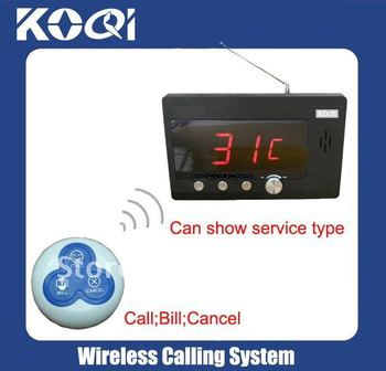 Call system DHL FREEshipping  < A SET of 1pc Receiver and 30pcs Call buttons >  Wireless call system