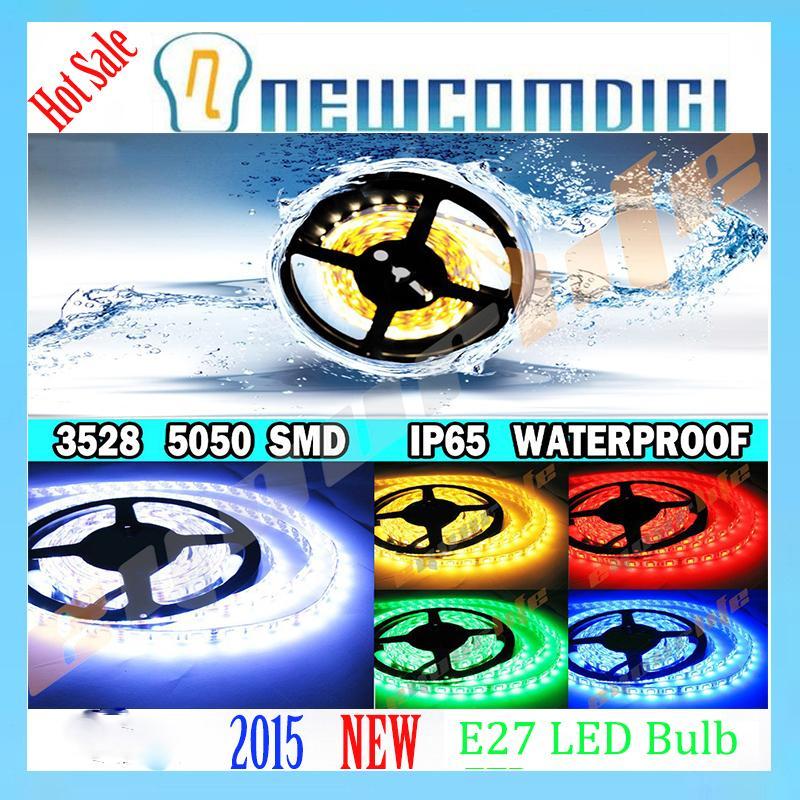 Eyourlife Super Bright 5M SMD 3528 5050 fita de led Waterproof 300 600 LED Light Flexible Strip DC 12V flexible light 60 led/m<br><br>Aliexpress