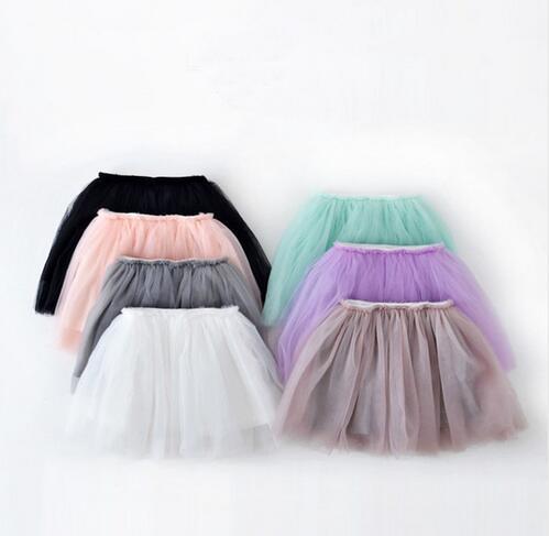 New summer style lovely ball gown skirt girls skirt Princess GirlsTutu pettiskirt girls skirts for 2-7 years kids skirts(China (Mainland))
