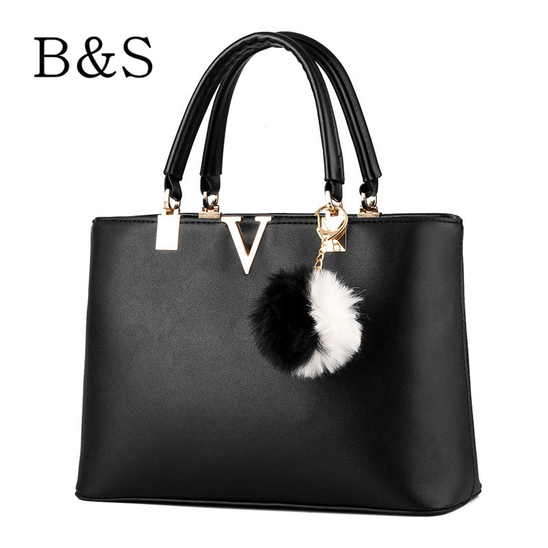 2016 Woman Famous Brand Handbags Fashion Simple Women Messenger Bags Fit Office Shopping Business Briefcase Female 6 Colors Tas(China (Mainland))