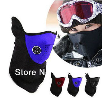 3 x Neoprene Neck Warm Half Face Windproof Mask Winter Veil For Sport Bike Bicycle Motorcycle Ski Snowboard