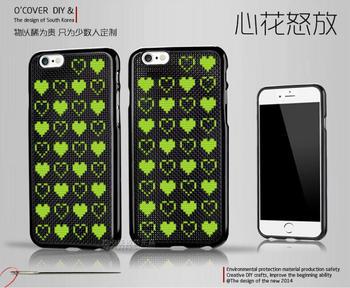 Etui plecki do iPhone 6 / 6s iPhone 6 Plus / 6s Plus DIY wyszywanka różne wzory i kolory