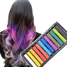 2014 New 12 colors Non-toxic Temporary DIY Hair Color Chalk Dye Pastels Salon Kit#M01050b(China (Mainland))