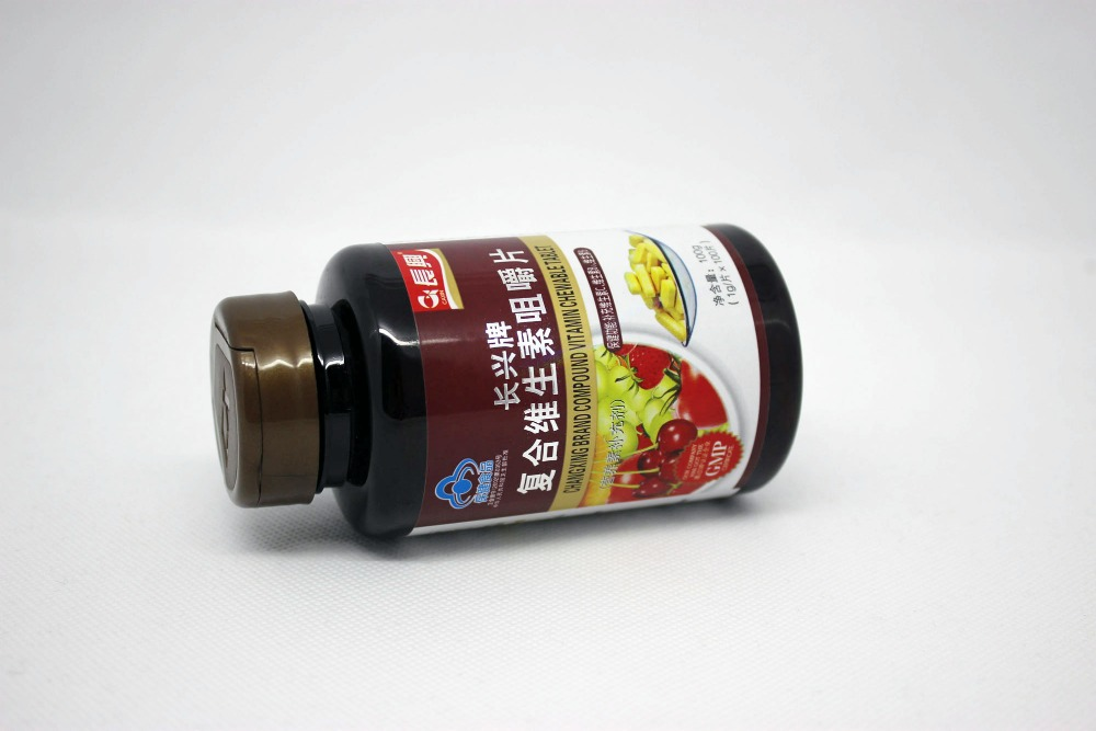 12 bottles High Quality vitamin c vitamin b1 vitamin b2 Multivitamin chewable tablets<br><br>Aliexpress