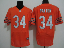 2016 Best Quality, Chicago Bears Cutler White 34 Walter Payton Kyle,17 Alshon Jeffery 22 Matt Forte Orange navy, 100% stitched(China (Mainland))