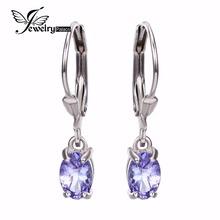 Подлинная танзанит алмаз драгоценный камень клип серьги ювелирные изделия реального чистый 925 твердых стерлингового серебра 2015 новое шарм подарок для женщин(China (Mainland))