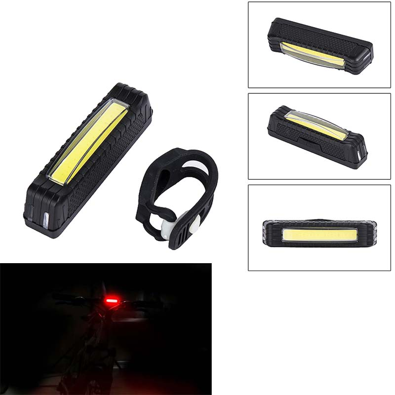 Bycicle Tail Light Band Light Reflector Bike USB MTB Road Dynamo For Bicycle Waterproof Tube Light Lamp Safety Bike Accessory(China (Mainland))