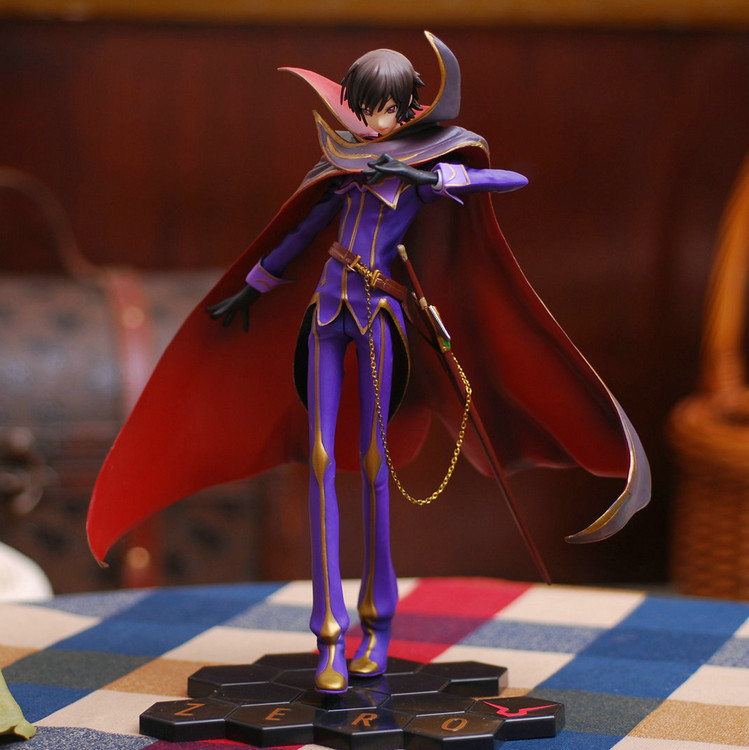 25cm Code Geass R2 Lelouch Lamperouge Zero Action Figures PVC brinquedos Collection Figures toys for christmas gift<br><br>Aliexpress