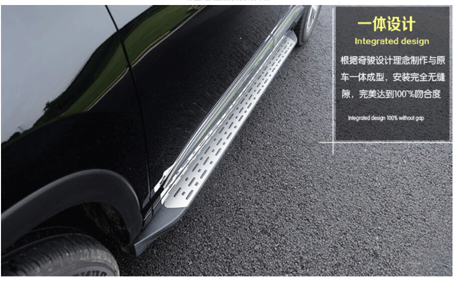 High Quality! Highlander Car side step bar running board Pedals for Toyota Highlander 2015.shipping AAAAA(China (Mainland))
