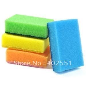 Free shipping,Magic Sponge multi-functional sponge kitchen dish sponge Colorful scouring pad,drop shipping,E297(China (Mainland))
