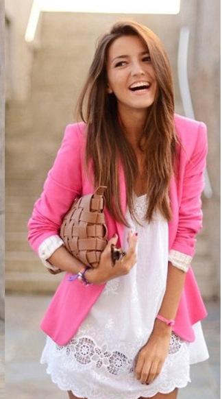 New Spring 2015 Tops ZA blazer women candy coat jacket Foldable outerwear coat jackets one button basic jacket suit blazers(China (Mainland))