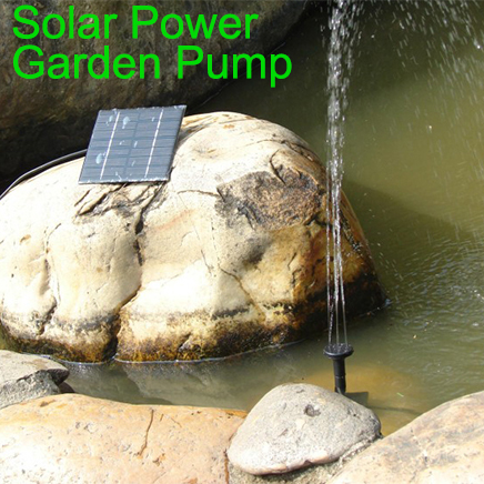 Wholesale High Efficiency Garden Brushless Solar Water Pump for Water Cycle/Pond Fountain/Rockery Fountain Free Shipping(China (Mainland))