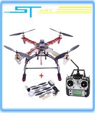 Free Ship DIY RC Quadrocopter Set HJ F450 Frame +30A ESC+A2212 Motor +T61045 Propeller control+ Fs-T6+B3 Charger+ MWC2.5 flight