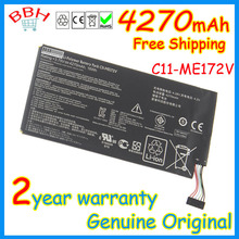 original c11-me172v new battery for asus MeMo Pad ME172V K004 ME371MG 4270mah batteria batteries AKKU high quality