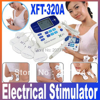 DUAL TENS MACHINE DIGITAL MASSAGE ACCUPUNCTURE PEN Low Frequency Therapeutic Electrical Health care beauty Stimulator Massager
