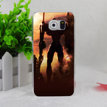 A2427 Comic Evangelion Transparent Hard Thin Case Cover For Samsung Galaxy S3 S4 S5 S6 S6 Edge S7