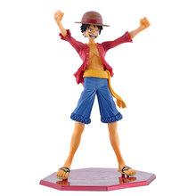 Megahouse POP Exellent Model Sailing Again Japanese Anime One Piece Action figurine P.O.P Monkey D Luffy PVC Action Figure