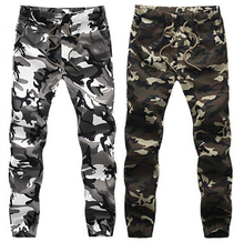 Large Size M~5XL Mens Joggers Spring Army Casual Harem Pants Men Skinny Camouflage Pants Fashion Military Trousers Hot