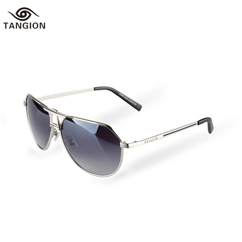 2015 New Style Sunglasses Men Brand Designer Oculos Gafas Mujer Alloy Frame Sun Glasses Gentleman Men Best Choice Eyewear 6145A(China (Mainland))