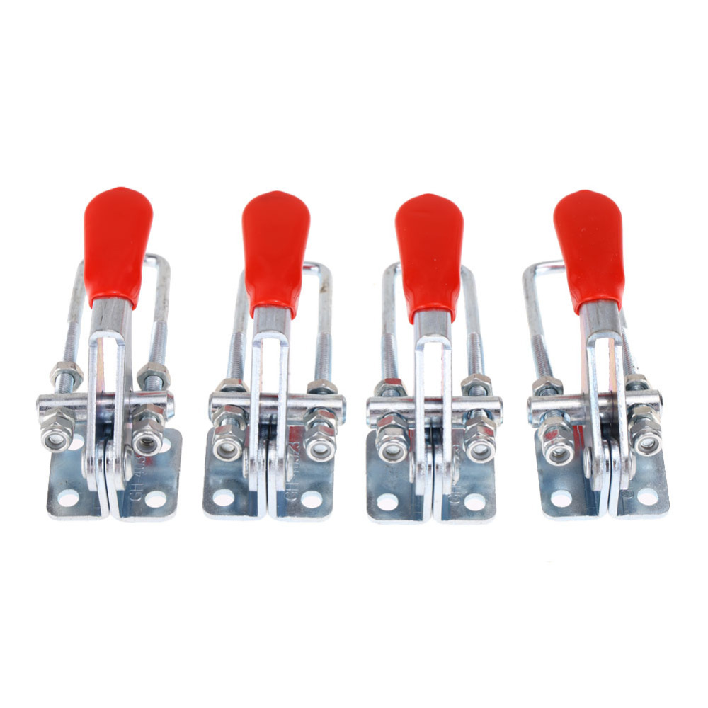 2015 New 4PCS 160Kg 360lbs Anti slip Hand Tool Side Mount Hold down Toggle Clamps Wholesale
