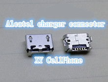 10pcs/lot USB charger connector for Alcatel one touch pop C9 OT7047 7047 charging connector dock plug port(Hong Kong)